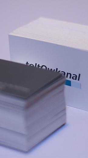 Visitenkarte Teltowkanal