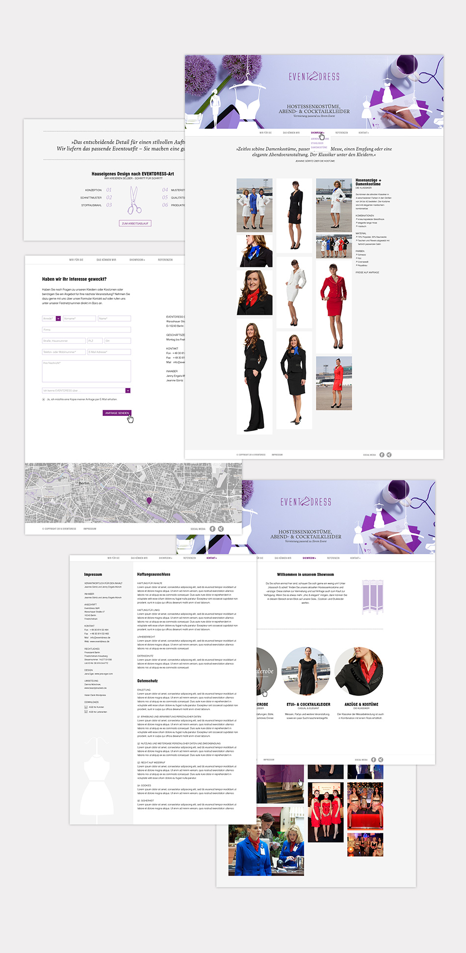 Website Eventdress