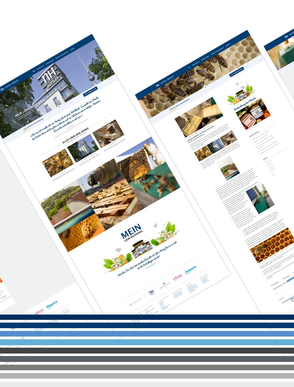 Website NH Hotel