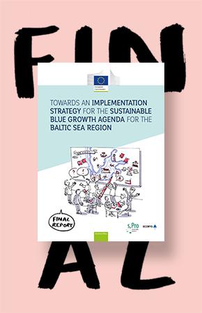 """Broschüre für die EU Kommission """"Maritime Affairs"""" im Auftrag von der Agentur sPro"""