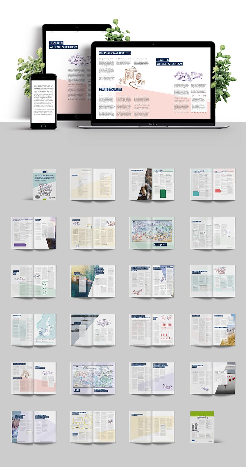 Web- und Printansichten des Forschungsberichts