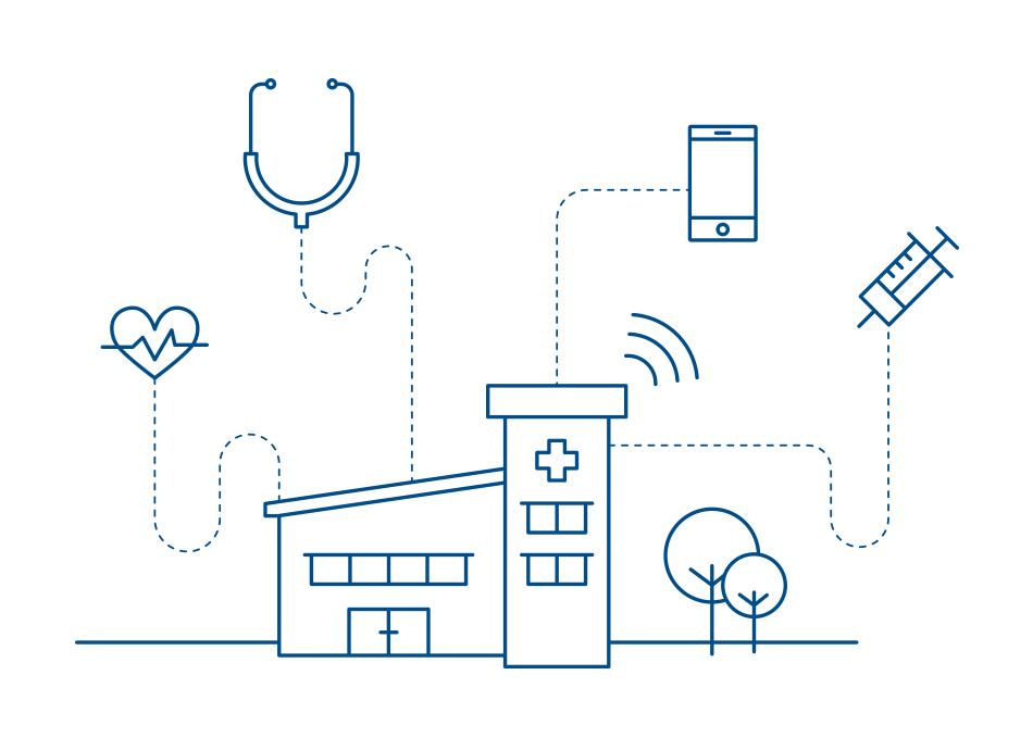 Infografik zum Thema Digital Health